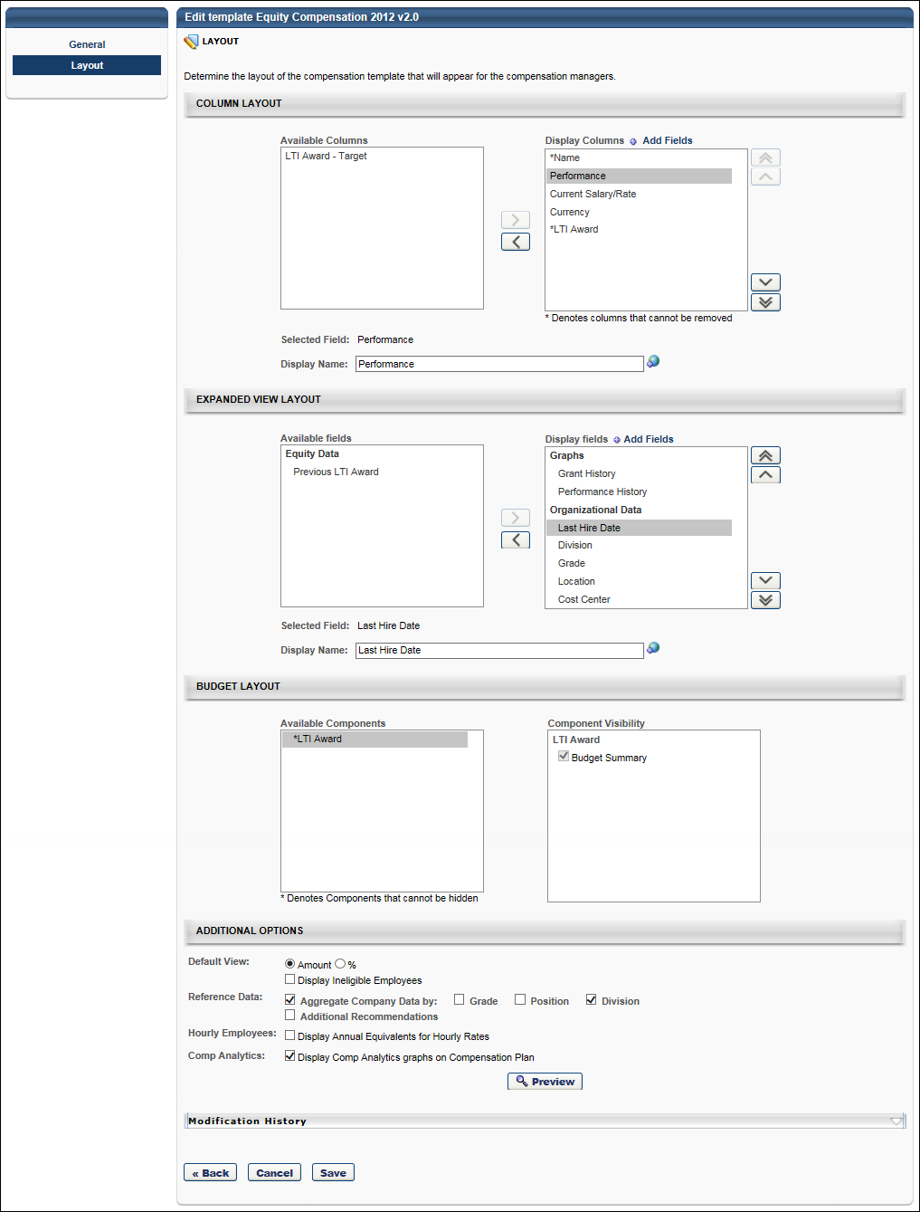 Equity compensation template layout save or cancel maxwellsz