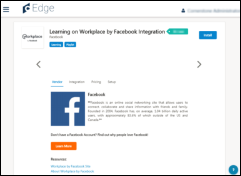 Learning on Workplace by Facebook - Enable