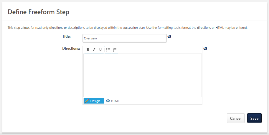 SMP Templates Redesign - Succession planning tools templates